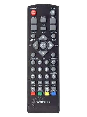 Пульт SET TOP BOX DVB-T2