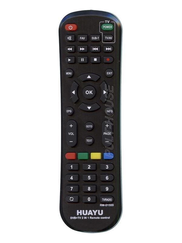 Пульт Универсальный RM-D1555 (DVB-T2+TV) ! T2 Украина