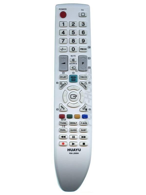 Пульт для Samsung универсальный RM-L898 белый