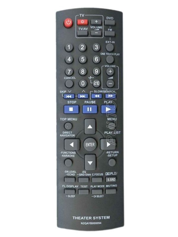 Пульт Panasonic N2QAYB000094 Home Theater